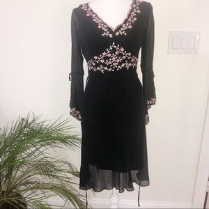 Vintage Sue Wong embroidered dress 6